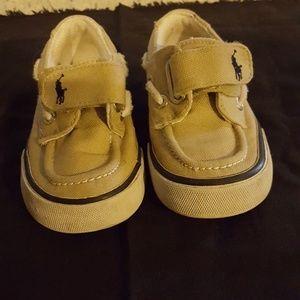 Ralph Lauren POLO shoes.